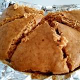 100%米粉の黒糖蒸しパン