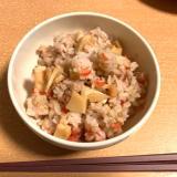 【293kcal】簡単☆筍と桜えびの混ぜごはん