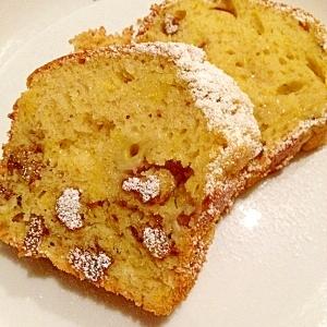 HM使用でざっくり作るバナナと胡桃のパウンドケーキ