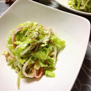 キャベツたっぷり☆ツナとカニカマの簡単サラダ☆