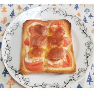 簡単!トマトチーズトースト