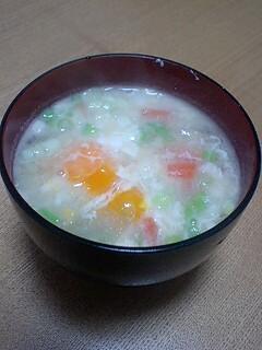 大根と人参と卵のお味噌汁