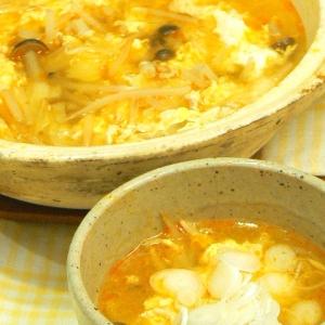酸辣湯スープ鍋★15分で完成