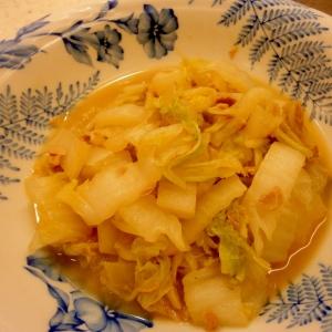 冷製☆白菜とシーチキン炒め☆