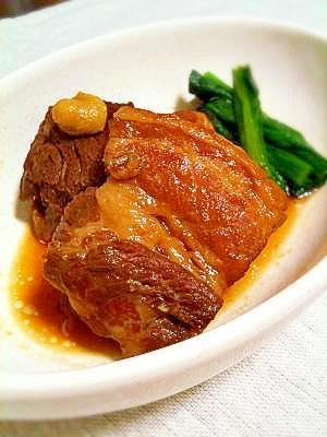 活力鍋de豚の角煮