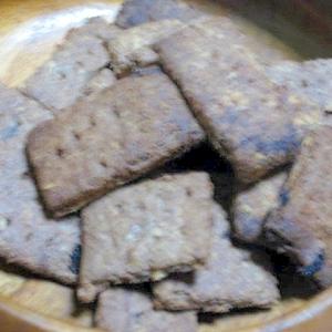 おから+クルミ+レーズンのサクザククッキー