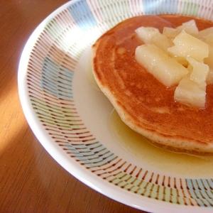 パンケーキ*パインとラムバター