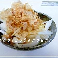 新玉ねぎのサラダ 柚子胡椒風味