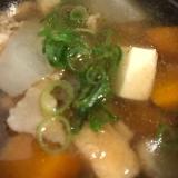 厚揚げ豆腐のけんちん汁(*^^*)☆