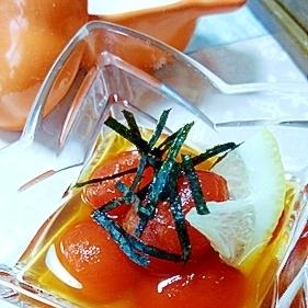 ちょっとおしゃれなプチトマトのポン酢煮(加筆版)