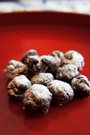 叩いて混ぜるだけ、コーヒー豆のクランチショコラ レシピ・作り方