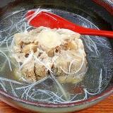 清湯スープ仕立て☆ 「和風テールスープ」