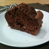 豆腐で作る★チョコバナナ味パウンドケーキ