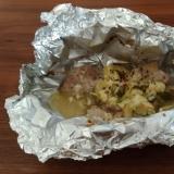 酢キャベツ使用!鶏肉のホイル焼き
