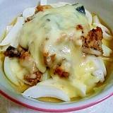 サバ缶で簡単☆サバと新玉ねぎのチーズ焼き
