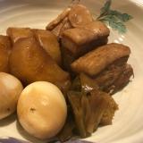 ホーロー鍋で作る♪ 豚の角煮