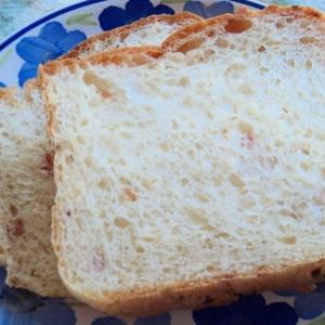 HBで焼き上げまで ベーコン食パン