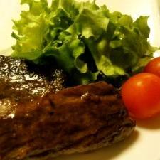 マグロのすき身で!マグロのオイル漬けステーキ