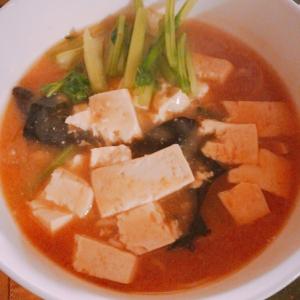 グルテンフリー♪麻婆豆腐ラーメン