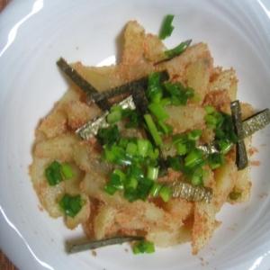 ジャガイモの明太ソテー