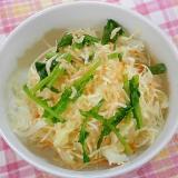 干しえびの野菜サラダ
