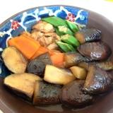 麺つゆで簡単!なすとオクラのボリューム煮浸し