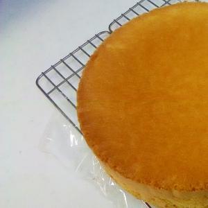 シンプルスポンジケーキ++