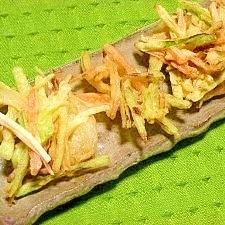 ブロッコリーの茎☆かき揚げ