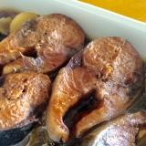 鯖の醤油煮(鯖缶風)