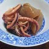 ローカロリー イカと蒟蒻の煮物