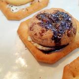 クリチとチョコチップクッキーのほろ甘焼きクラッカー