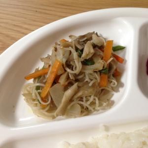 離乳食完了期♪素麺と野菜の炒め物☆