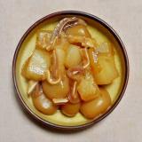 ミミガーと玉こんにゃくと大根の煮物