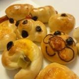 子供と作る♪発酵なしの簡単手ごねパン