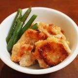 鶏もも肉の甘味噌焼き