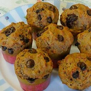 ボウル1つ☆雑穀とキャロブのカップケーキ