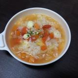 【離乳食 完了期】トマトチーズリゾット