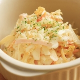 オレンジ白菜とキャベツのコールスロー風サラダ