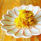 菊花の梅シロップ漬け