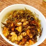 おふくろの味★切り昆布と大豆の炒め煮★