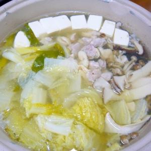 ❤ 乳酸発酵漬け鶏&3種のキノコ鍋 ❤