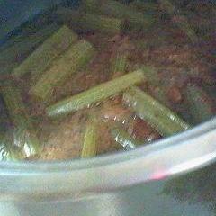 ふきの茎で おかか煮
