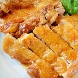 鶏もも肉の甘酢照り焼き