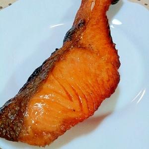 ✿オリーブオイルでつや出し❤ニセ脂の焼き鮭