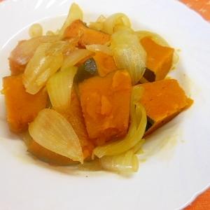南瓜と玉葱のコンソメ煮