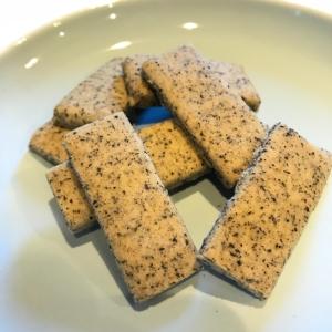 黒ごま米粉クッキー