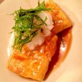 ++家計に優しい! 豆腐ステーキ++