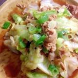 超簡単☆キャベツと豚肉の甘味噌炒め☆回鍋肉風