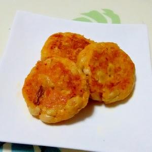 キムチーズの大豆おやき++