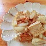 豆腐とちくわのチャンプルー✿